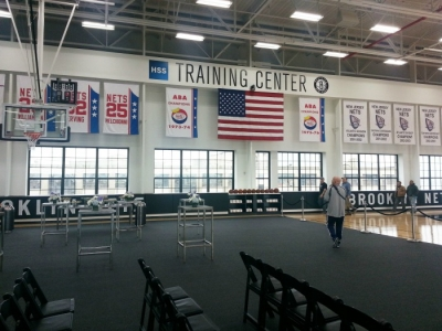 Brooklyn Nets HSS Training Center opened in the Sunset Park section of Brooklyn