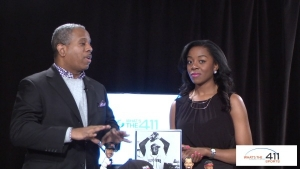 Glenn Gilliam and Bianca Peart hosts of What's The 411Sports discussing Donald Sterling debacle