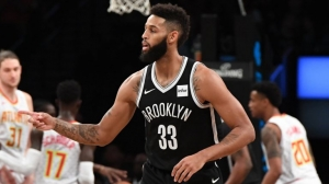 Allen Crabbe in victorious game against Atlanta Hawks