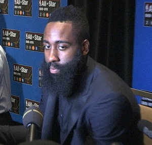 James Harden, Houston Rockets guard and 2017 NBA MVP candidate