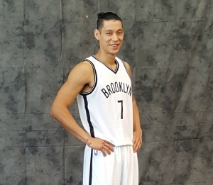 Brooklyn Nets guard Jeremy Lin led all scorers with 24 points in loss to New York Knicks