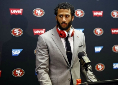 Former San Francisco 49ers quarterback, Colin Kaepernick, still without a home.