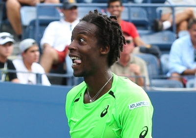 French professional tennis player, Gael Monfils