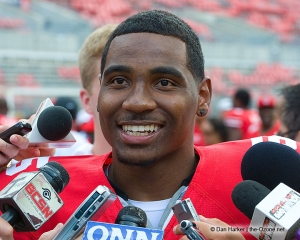 Ohio State's quarterback Braxton Miller moving to wide receiver position