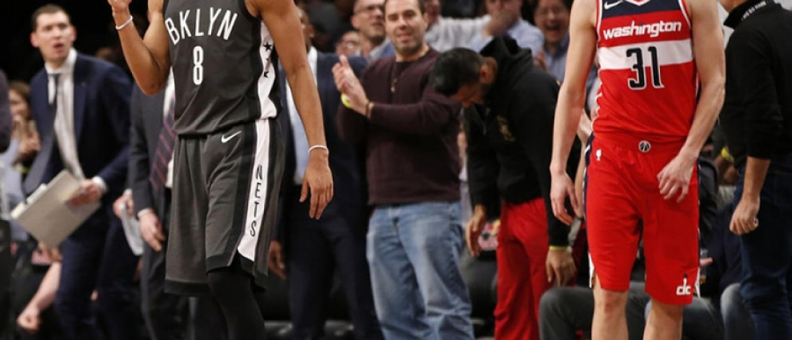 Brooklyn Nets Defeat Washington Wizards 103-98