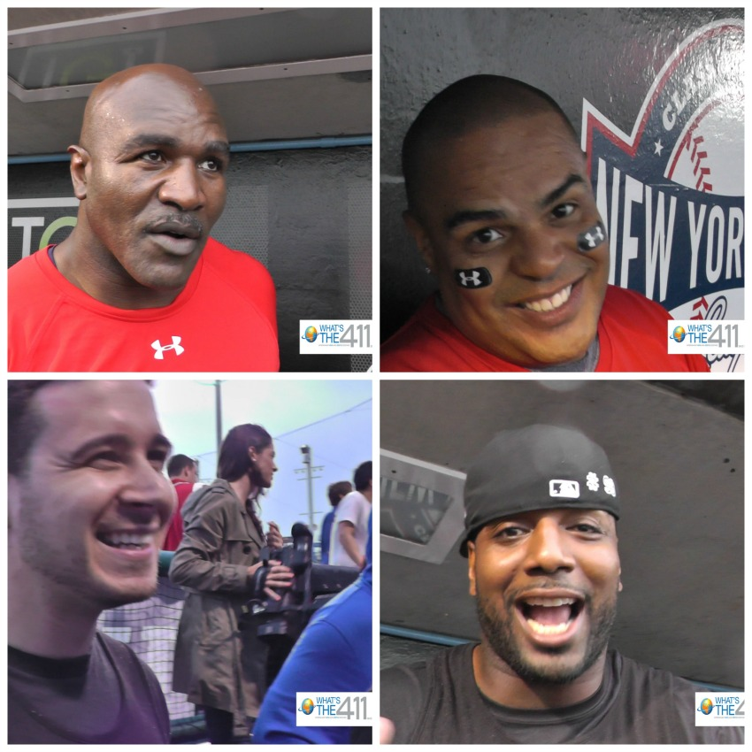 Collage Evander Holyfield DJ Enuff Vinny G Chris Canty MLB All Star Weekend Justin Tuck Nelly Softball Charity resized