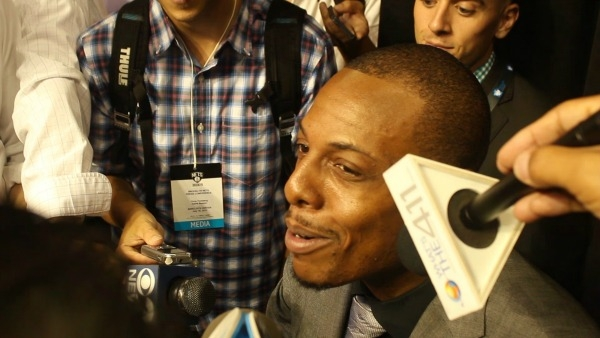 Paul Pierce Talking to Media 1
