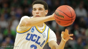 Basketball player Lonzo Ball.