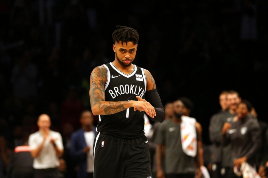Brooklyn Nets guard D'Angelo Russell
