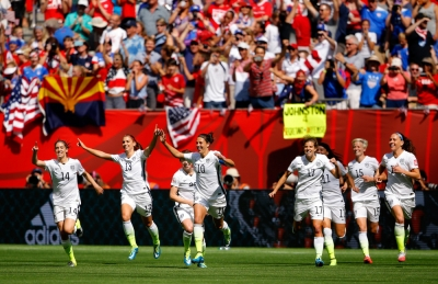 United States Women's National Soccer Team won 2015 World Cup