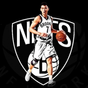 Brooklyn Nets newly acquired guard, Jeremy Lin