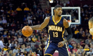 Indiana Pacers point guard Paul George doesn't make any All-NBA team
