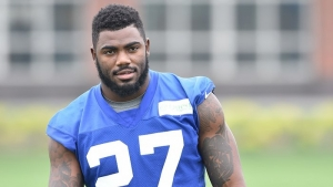 Landon Collins, New York Giants safety and former member the of the University of Alabama men's football team