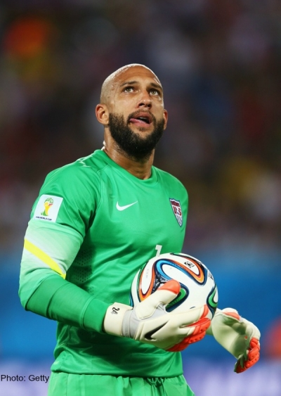 Tim Howard, USA National Soccer Team goalkeeper