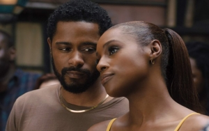 Actors LaKeith Stanfield and Issa Rae in the movie, The Photograph