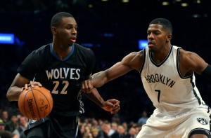 Brooklyn Nets lose to the Minnesota Timberwolves at the Barclays Center on Sunday, December 20, 2015