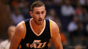 Gordon Hayward leaves the Utah Jazz for the Boston Celtics during the 2017 NBA Free Agency.