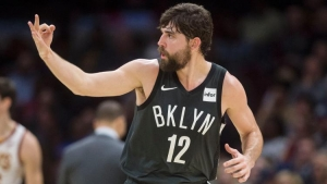 Brooklyn Nets guard Joe Harris