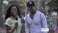 Actor Pooch Hall Supports Kids' Basketball in Brooklyn