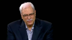 Phil Jackson on the Charlie Rose show discussing his new book, Eleven Rings: The Soul of Success