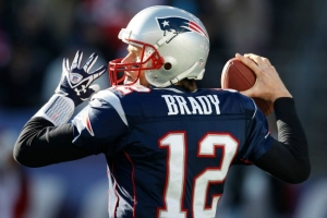 New England Patriots quarterback, Tom Brady