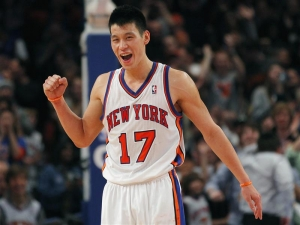 Jeremy Lin, point guard, New York Knicks