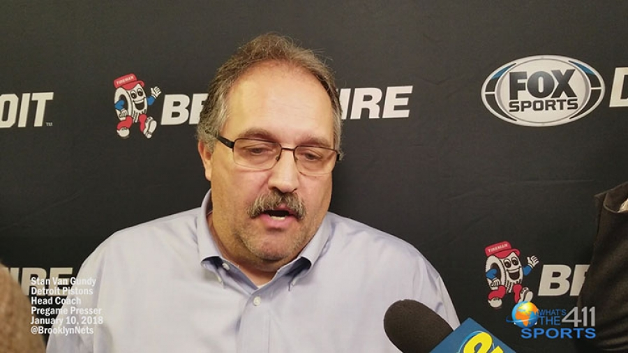 Coach Speak: Stan Van Gundy Talks Game Strategies for Pistons