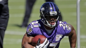 Ray Rice, former running back with the Baltimore Ravens