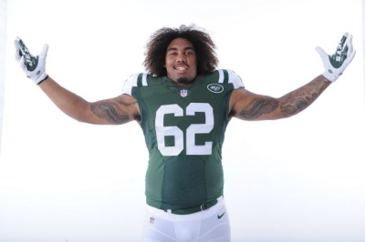 New York Jets defensive end Leonard Williams