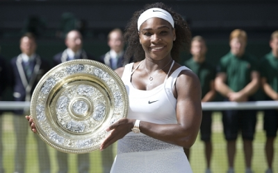 Serena Williams wins the 2015 Wimbledon Chamionship