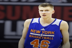 Kristaps Porzingis, 4th overall pick in the 2015 NBA Draft