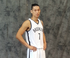 Brooklyn Nets guard Jeremy Lin led Brooklyn Nets scorers with 21 points in win over the Detroit Pistons