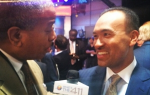 Newly Minted NBA Deputy Commissioner Mark Tatum at 2014 NBA Draft Lottery