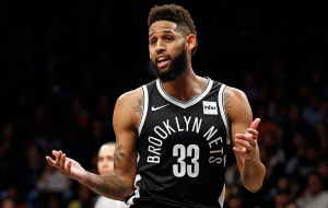 Brooklyn Nets guard Allen Crabbe