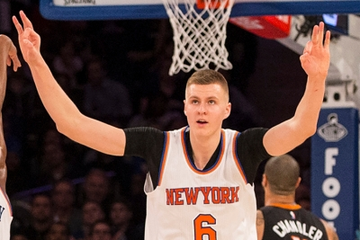 New York Knicks PF/center Kristaps Porzingis