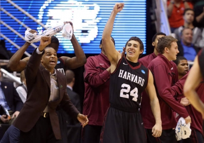 Harvard University upsets New Mexico and gets its first ever NCAA tournament win