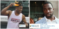Justin Tuck, Nelly and other Celebrities Take the Softball Field for Charity