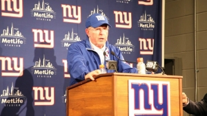 Tom Coughlin, head coach of the New York Giants