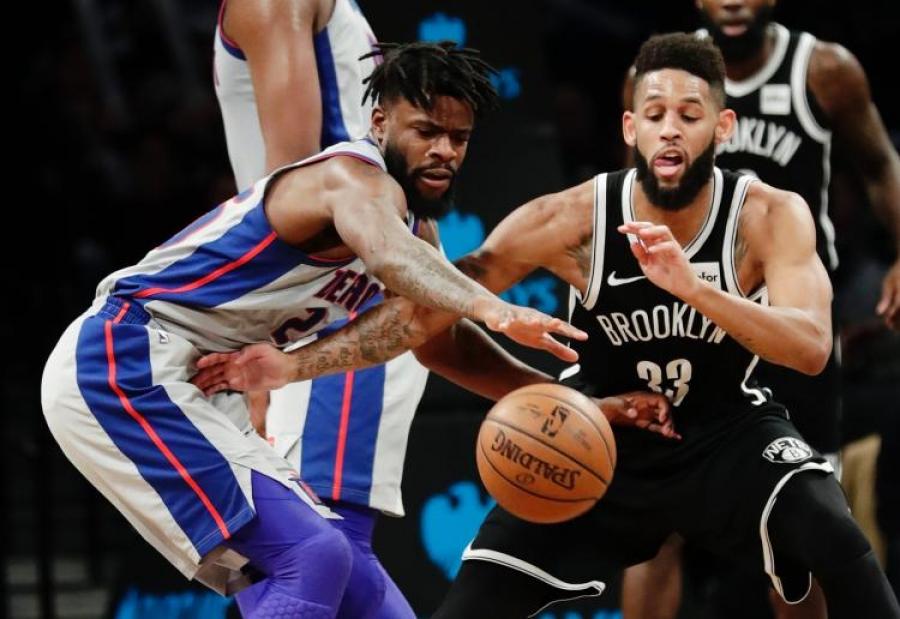 Pistons Trounce Nets 114-80