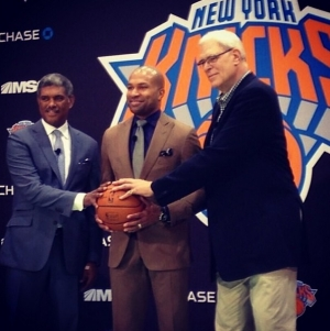 New York Knicks introduce Derek Fisher as New Head Coach