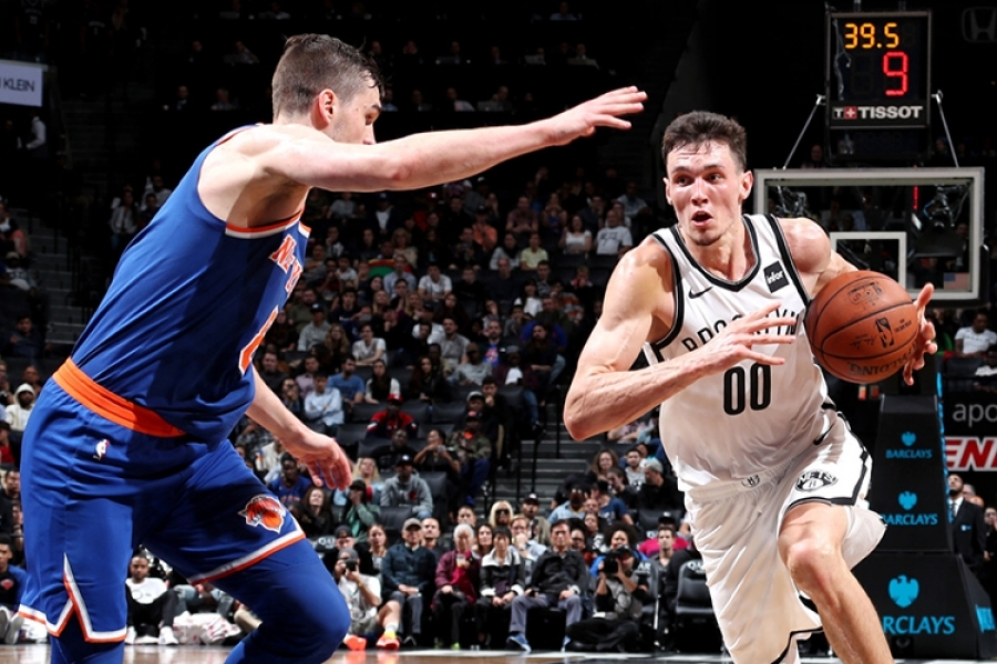 Rodions Kurucs Unfiltered: Nets vs. Knicks Preseason Post-game Press Meeting