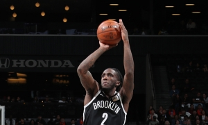 Brooklyn Nets forward Taurean Prince leads all Brooklyn Nets players with 22 points