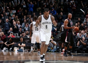Brooklyn Nets guard Sean Kilpatrick scores a career-high 38 points in Brooklyn Nets 127-122 double overtime win over the Los Angeles Clippers