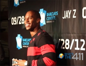 Victor Cruz, wide receiver for the New York Giants