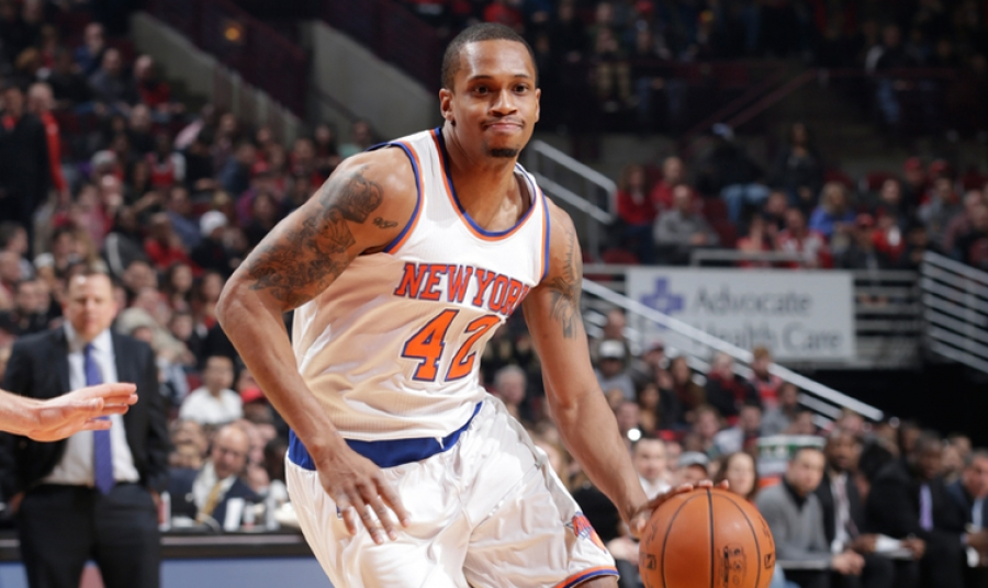 Lance Thomas New York Knicks center