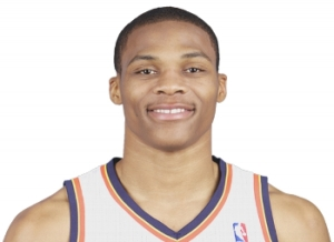 Russell Westbrook, Point Guard, Oklahoma City Thunder (NBA)