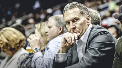 Bryan Colangelo, Philadelphia 76ers president of basketball operations and general manager, embroiled in a Twitter scandal