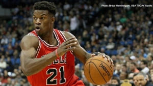 Chicago Bulls shooting guard/forward Jimmy Butler