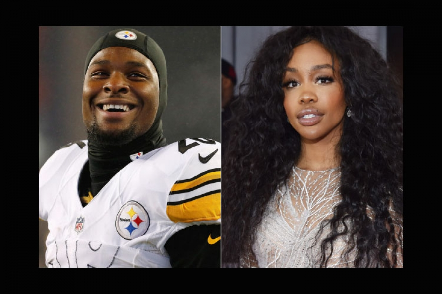 Pittsburgh Steelers running back Le'Veon Bell (left) wants R&B star SZA (right) to be his Valentine. We'll keep an eye on this one.