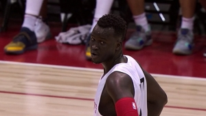 Deng Adel signs with the Brooklyn Nets